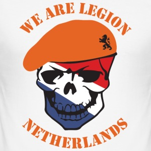 Netherlands we Are Legion T-shirts - slim fit T-shirt