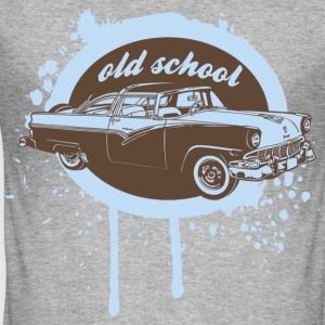 Old School Car T-Shirts - Männer Slim Fit T-Shirt