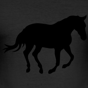 cheval horse silhouette ombre shadow6 Tee shirts - Tee shirt près du corps Homme