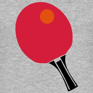 raquette tennistable pingpong racket ball Tee shirts - Tee shirt près du corps Homme