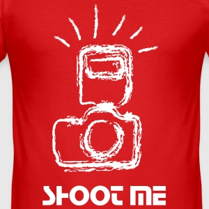 camera T-Shirts - Men's Slim Fit T-Shirt