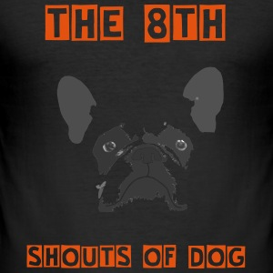 shouts of DOG - Tee shirt près du corps Homme