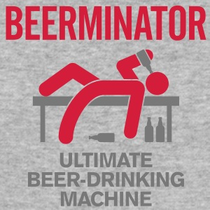 Beerminator 2 (2c)++ T-shirts - Slim Fit T-shirt herr