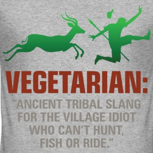 Vegetarian 2 (dd)++ T-shirts - slim fit T-shirt