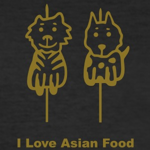 I Love Asian Food - V1 T-Shirts - Männer Slim Fit T-Shirt