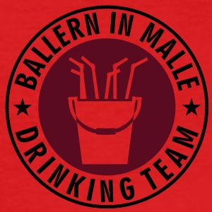 Ballern in Malle (b, 2c) T-Shirts - Männer Slim Fit T-Shirt