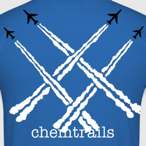 chemtrails big - slim fit T-shirt