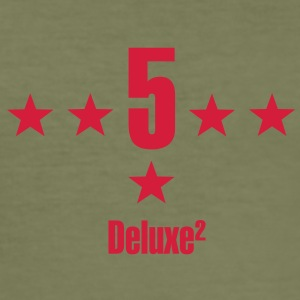 5 Sterne deluxe t-shirts - Männer Slim Fit T-Shirt
