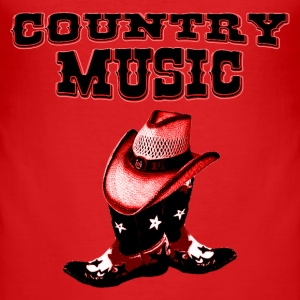 country music T-Shirts - Männer Slim Fit T-Shirt