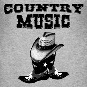 country music T-skjorter - Slim Fit T-skjorte for menn