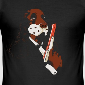 Dog hunt - Herre Slim Fit T-Shirt