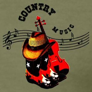 country music T-shirts - Herre Slim Fit T-Shirt