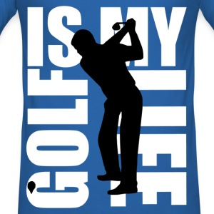 golf is my life T-shirts - slim fit T-shirt