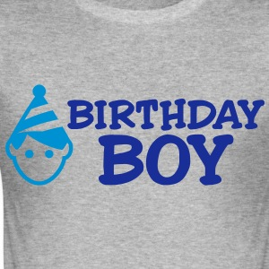 Birthday Boy 2 (2c)++ T-Shirts - Men's Slim Fit T-Shirt