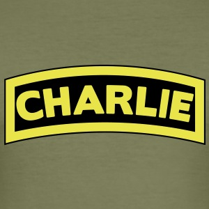 Charlie Tab T-shirts - slim fit T-shirt