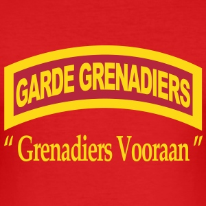 Garde Grenadiers Vooraan T-shirts - slim fit T-shirt
