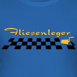 Fliesenleger - V2 T-Shirts - Männer Slim Fit T-Shirt