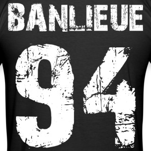 banlieue 94 Tee shirts - Tee shirt près du corps Homme