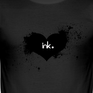 ink. Mens T-shirt - Men's Slim Fit T-Shirt
