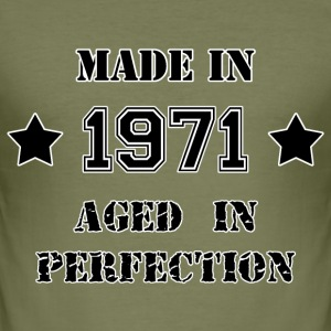 Made in 1971 T-shirts - Slim Fit T-shirt herr
