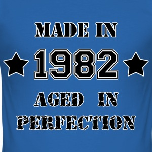 Made in 1982 T-Shirts - Männer Slim Fit T-Shirt