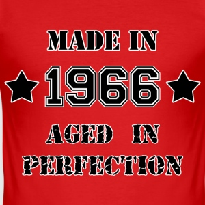 Made in 1966 T-shirts - Herre Slim Fit T-Shirt
