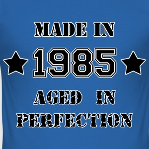 Made in 1985 T-shirts - Herre Slim Fit T-Shirt