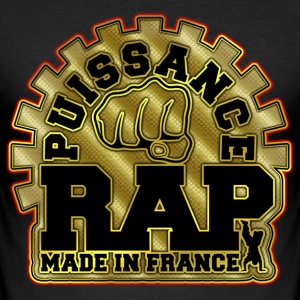 puissance rap made in france Tee shirts - Tee shirt près du corps Homme