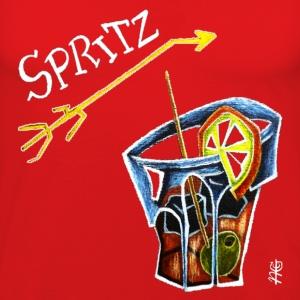 Magliette bicchiere spreadshirt for Bicchieri aperol spritz