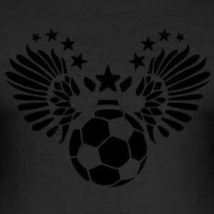 foot soccer aile wing fly4 vole sport Tee shirts - Tee shirt près du corps Homme