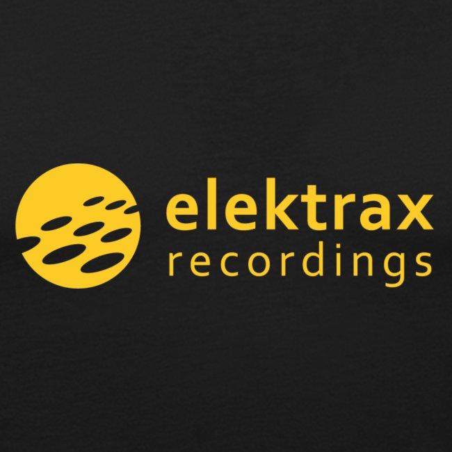 Elektrax Recordings Yellow Logo on Black