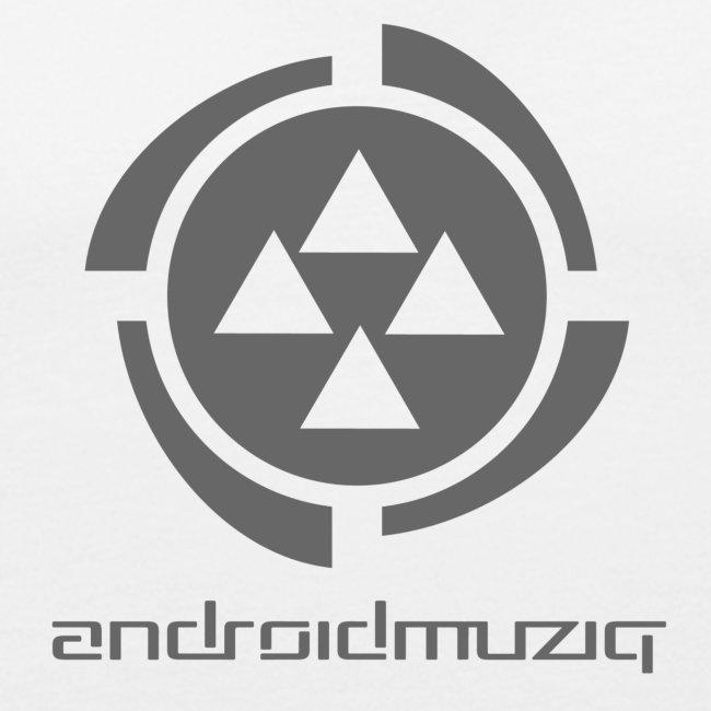Android Muziq - Dark Grey logo on White