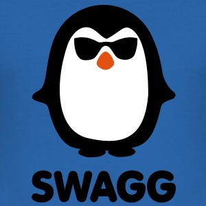 SWAGG pinguin T-Shirts - Men's Slim Fit T-Shirt