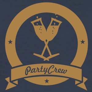 party crew (1c) T-Shirts - Men's Slim Fit T-Shirt
