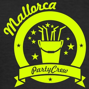 Mallorca party crew (1c) T-Shirts - Männer Slim Fit T-Shirt