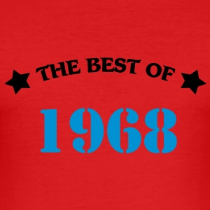 The best of 1968 T-shirts - Herre Slim Fit T-Shirt