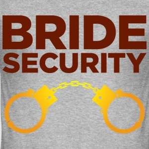 Bride Security 4 (dd)++ T-shirts - slim fit T-shirt