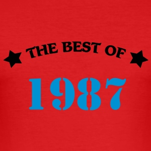 The best of 1987 T-shirts - Slim Fit T-shirt herr