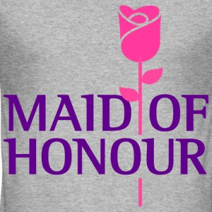Maid Of Honour 1 (dd)++ T-Shirts - Männer Slim Fit T-Shirt
