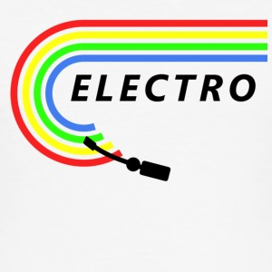Electro - Männer Slim Fit T-Shirt