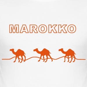 Marokko T-Shirts - Männer Slim Fit T-Shirt