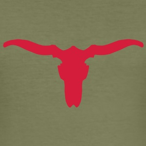 longhorns  T-Shirts - Men's Slim Fit T-Shirt