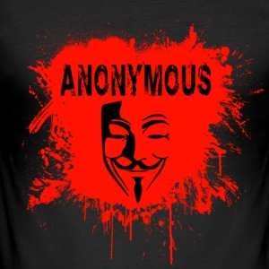 anonymous T-Shirts - Men's Slim Fit T-Shirt