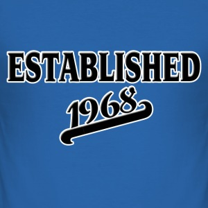 Established 1968 T-Shirts - Männer Slim Fit T-Shirt