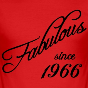 Fabulous since 1966 T-Shirts - Men's Slim Fit T-Shirt