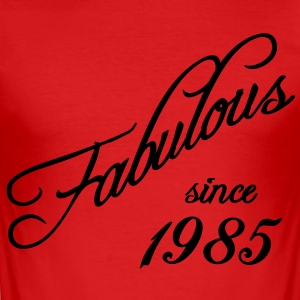 Fabulous since 1985 T-shirts - Herre Slim Fit T-Shirt