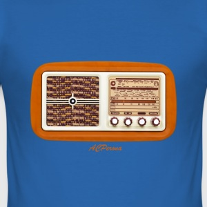 Vintage Radio T-shirts - slim fit T-shirt