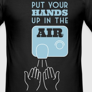 Put your hands up in the Air T-shirts - slim fit T-shirt
