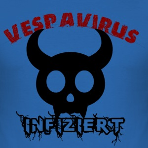 Vespa Virus T-Shirts - Männer Slim Fit T-Shirt