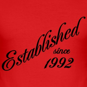 Established since 1992 T-shirt - Maglietta aderente da uomo